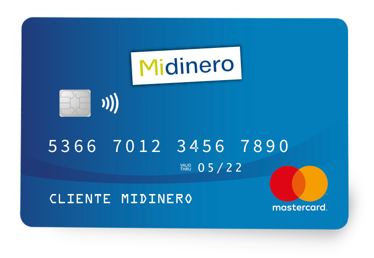 Tarjeta Midinero